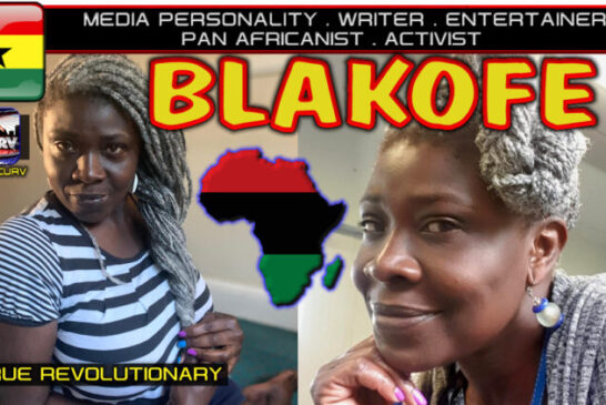INTRODUCING BLAKOFE: THE MEDIA PERSONALITY & PAN-AFRICANIST WHO SPEAKS 100% TRUTH!