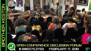 BROTHER KESTON'S BLACK EMPOWERMENT OPEN DISCUSSION FORUM! - The LanceScurv Show
