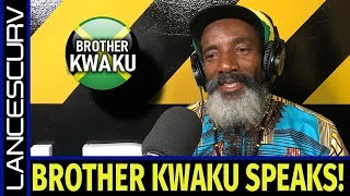 BROTHER KWAKU SPEAKS ON THE DOCILE CONDITIONING OF THE BLACK MIND! - BROTHER KWAKU