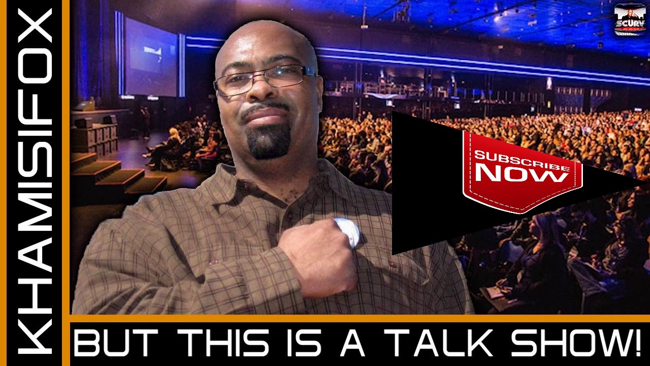 BUT THIS IS A TALK SHOW! - KHAMISIFOX ON The LanceScurv Show