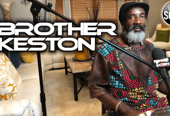 THE ONLY TIME THAT WE WILL BE FREE IS WHEN WE HAVE A HOMELAND OF OUR OWN! - BROTHER KESTON