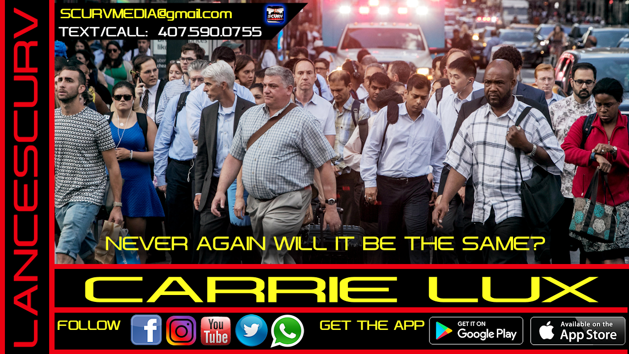 NEVER AGAIN WILL IT BE THE SAME? - CARRIE LUX
