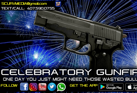 CELEBRATORY GUNFIRE: ONE DAY YOU MIGHT NEED THOSE WASTED BULLETS!