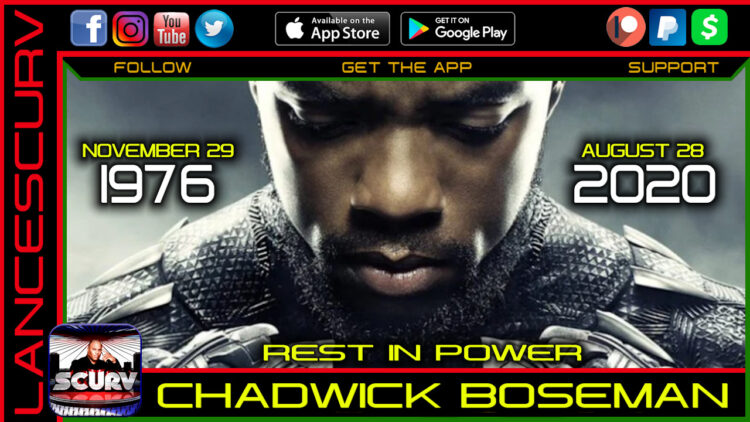 CHADWICK BOSEMAN, BLACK PANTHER STAR HAS DIED OF COLON CANCER!