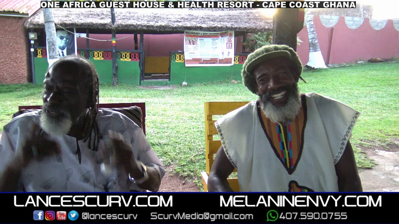 CONVERSATION: THE ONE AFRICA GUEST HOUSE & HEALTH RESORT AT CAPE COAST GHANA! - The LanceScurv Show