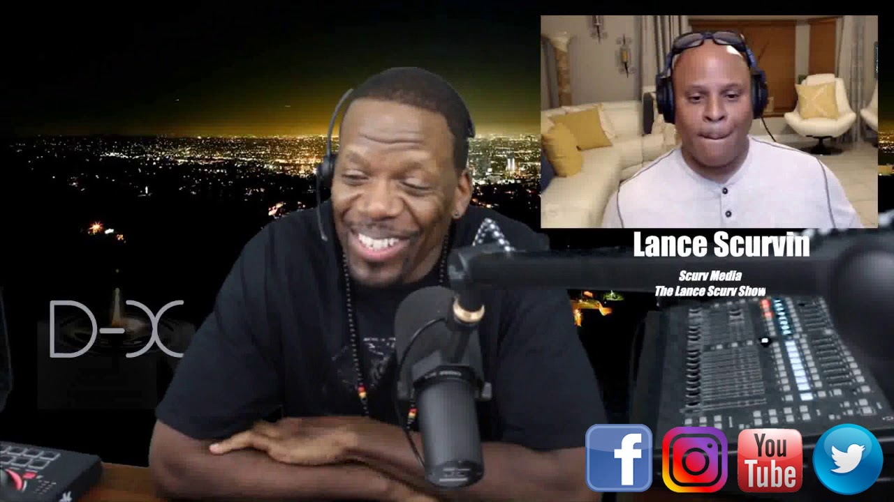 DOMENIQ X INTERVIEWS SPECIAL GUEST LANCESCURV ON DX-LIVE!