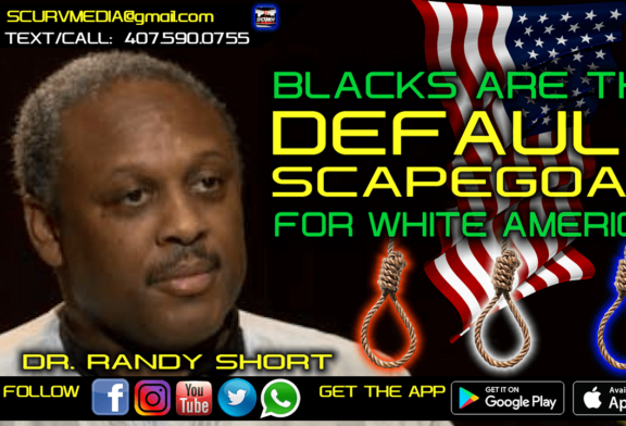 BLACKS ARE THE DEFAULT SCAPEGOAT FOR WHITE AMERICA!