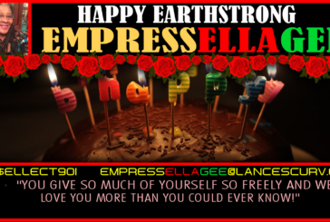 HAPPY EARTHSTRONG EMPRESSELLAGEE: THE ENTIRE TEAMSCURV FAMILY CAME OUT TO CELEBRATE & LOVE ON YOU!