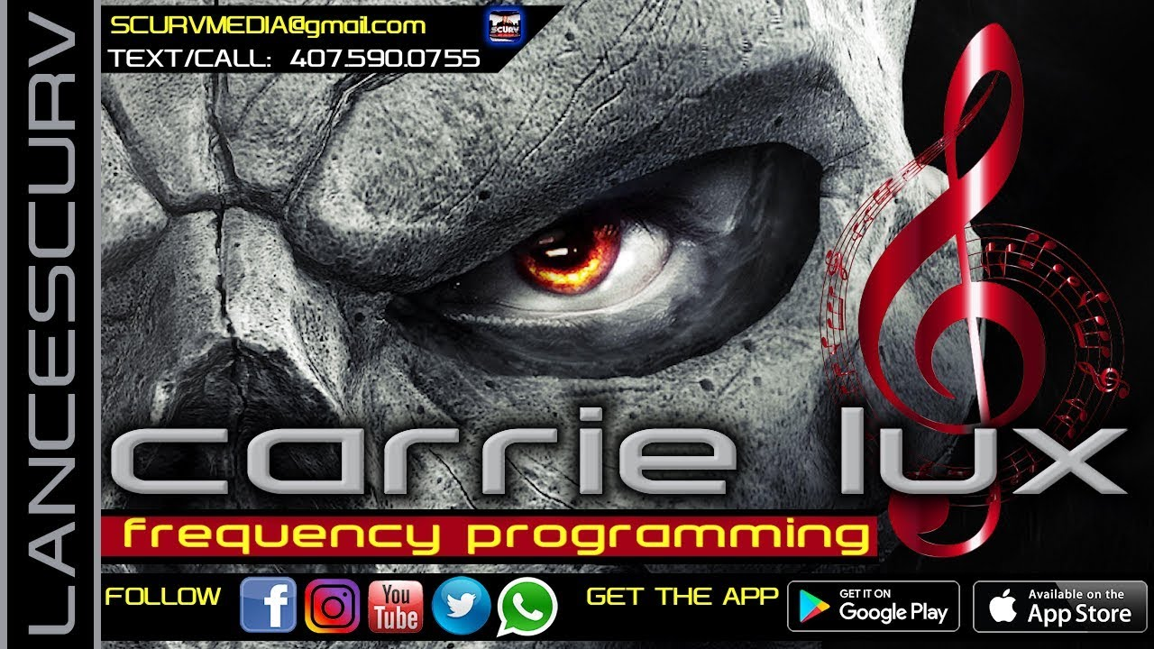 FREQUENCY PROGRAMMING & OCCULTIC MIND CONTROL! - CARRIE LUX/The LanceScurv Show