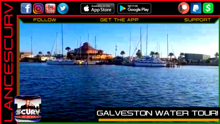 GALVESTON WATER TOUR!