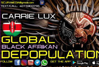 GLOBAL BLACK AFRIKAN DEPOPULATION!