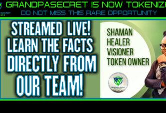 GRANDPASECRET IS NOW TOKENIZED!