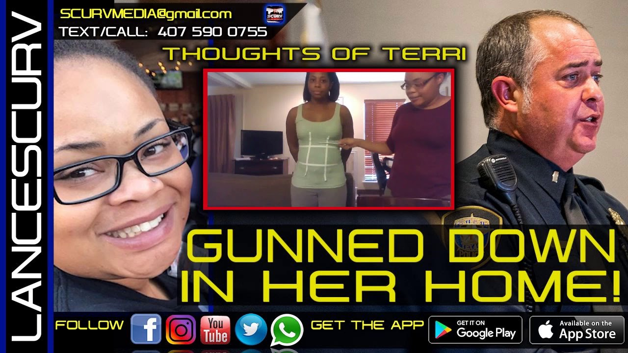 GUNNED DOWN IN HER HOME: ATATIANA KOQUICE JEFFERSON DIDN'T DESERVE THIS! - THOUGHTS OF TERRI