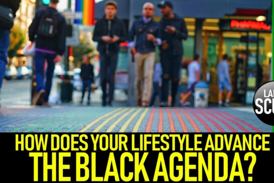 HOW DOES YOUR LIFESTYLE ADVANCE THE BLACK AGENDA? – The LanceScurv Show