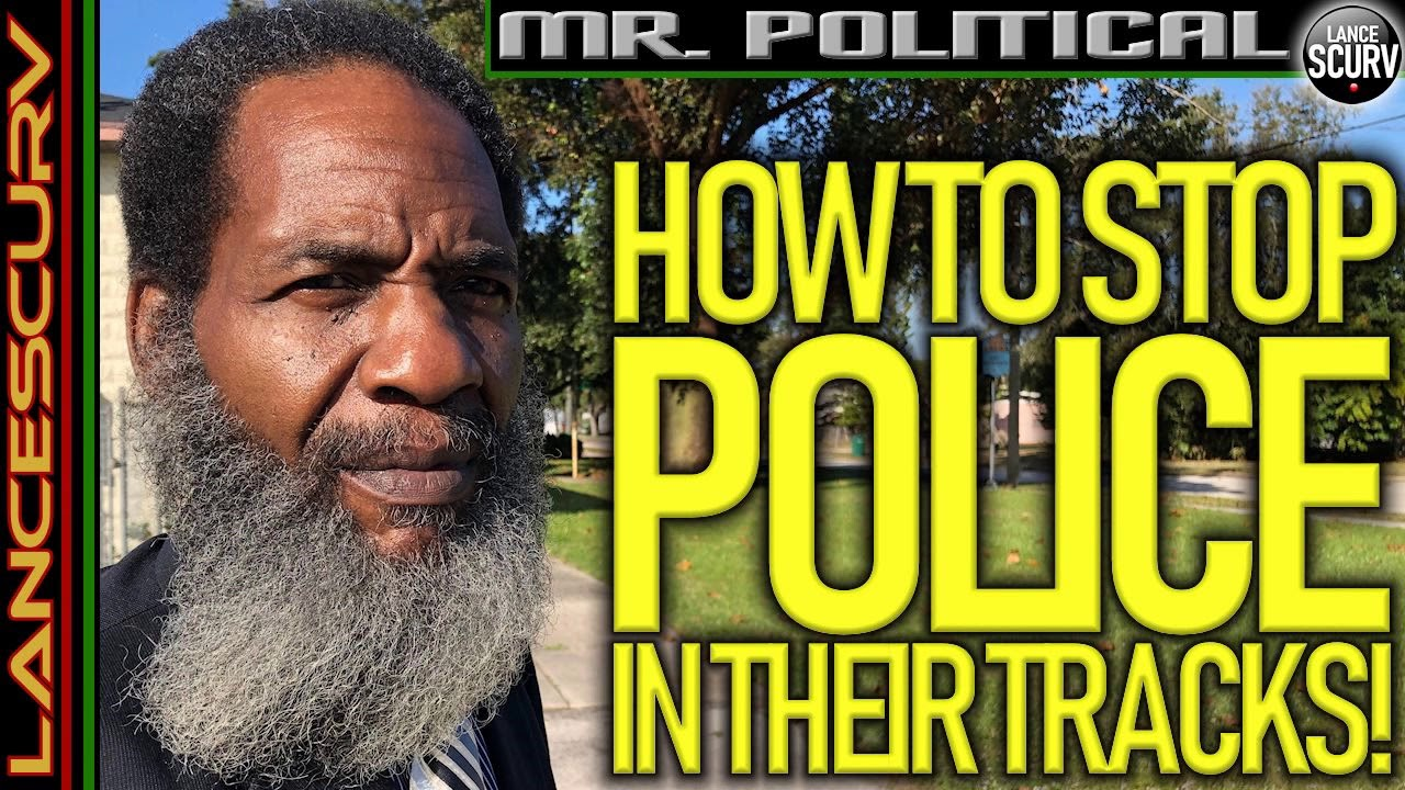 HOW TO STOP POLICE IN THEIR TRACKS! - The LanceScurv Show