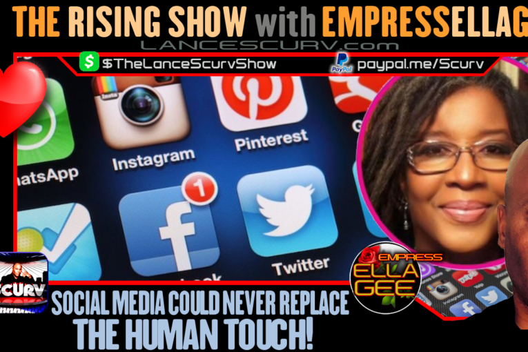 SOCIAL MEDIA COULD NEVER REPLACE THE HUMAN TOUCH!
