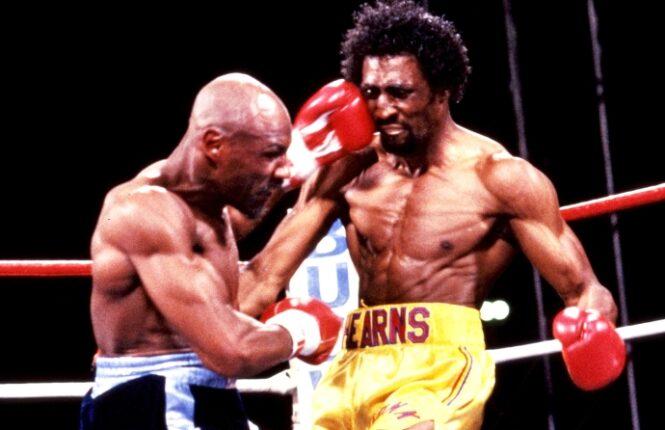 Marvin Hagler versus Tommy Hearns