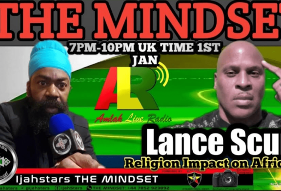 BROTHER IJAHSTARS PRESENTS LANCESCURV ON AMLAK LIVE RADIO/BLACKSTAR INTERNATIONAL MEDIA