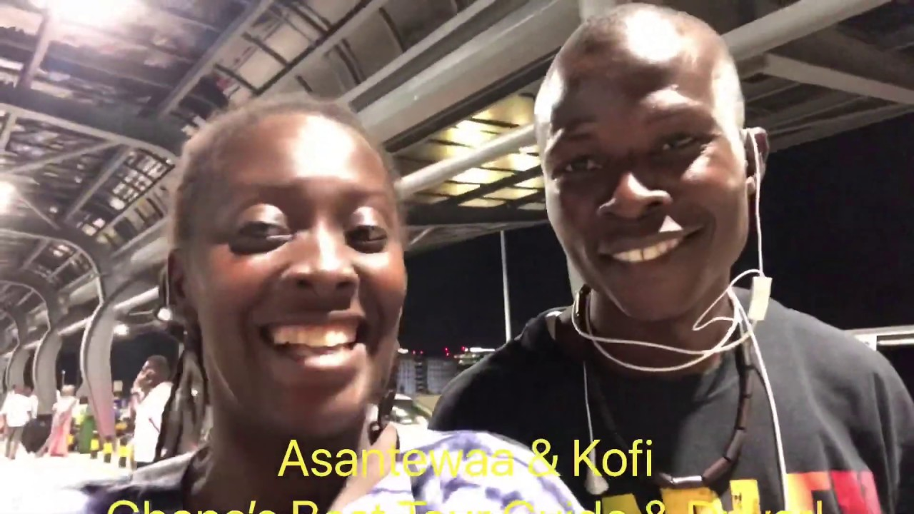 INTRODUCING GHANA'S BEST TOUR GUIDE & PROFESSIONAL DRIVER: ASANTEWAA & KOFI!