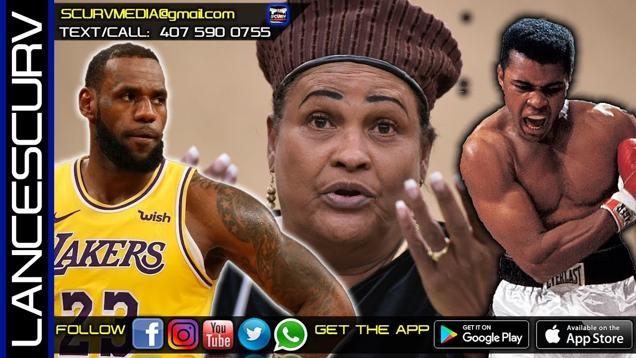 IS KHALILAH ALI RIGHT ABOUT MUHAMMAD ALI STANDING UP AGAINST CHINA WHEN LEBRON JAMES DIDN'T?