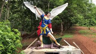 IS THIS RACIST STATUE IN TEPA GHANA A HINT INTO HOW BLACKS WILL BE HANDLED WORLDWIDE?