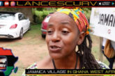 JAMAICA VILLAGE IN GHANA WEST AFRICA: