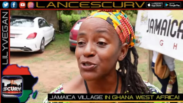 "JAMAICA VILLAGE IN GHANA WEST AFRICA: ""WE ARE ONE PEOPLE!"" - The LanceScurv Show"