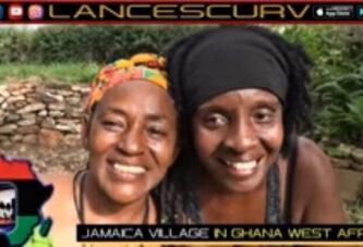 THE JAMAICA VILLAGE IN GHANA WEST AFRICA!