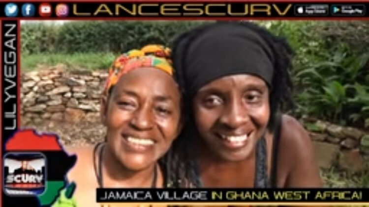 THE JAMAICA VILLAGE IN GHANA WEST AFRICA!