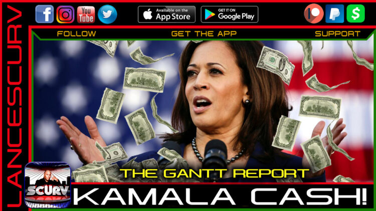 KAMALA CASH! - THE GANTT REPORT