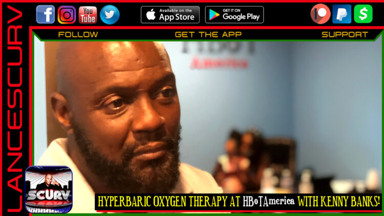 HYPERBARIC OXYGEN THERAPY AT HBoTAmerica WITH KENNY BANKS!