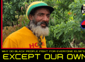 WHY DO BLACK PEOPLE FIGHT FOR EVERYONE ELSE'S CAUSE EXCEPT OUR OWN? - BROTHER KWAKU/ScurvMedia