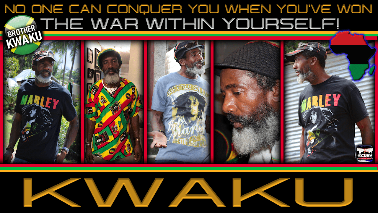 NO ONE CAN CONQUER YOU WHEN YOU'VE WON THE WAR WITHIN YOURSELF! - BROTHER KWAKU