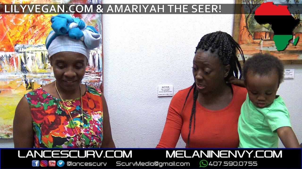 LILYVEGAN & AMARIYAH THE SEER! - The LanceScurv Show