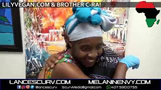 LILYVEGAN & BROTHER C-RA AT THE ROAD TO RESTORATION/THREE MASKS INC. - The LanceScurv Show