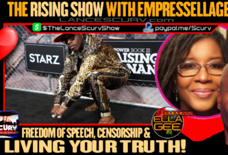 FREEDOM OF SPEECH | CENSORSHIP & LIVING YOUR TRUTH! - THE RISING SHOW