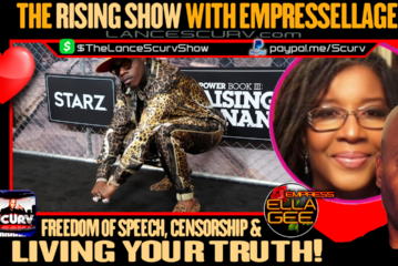 FREEDOM OF SPEECH   CENSORSHIP & LIVING YOUR TRUTH! - THE RISING SHOW