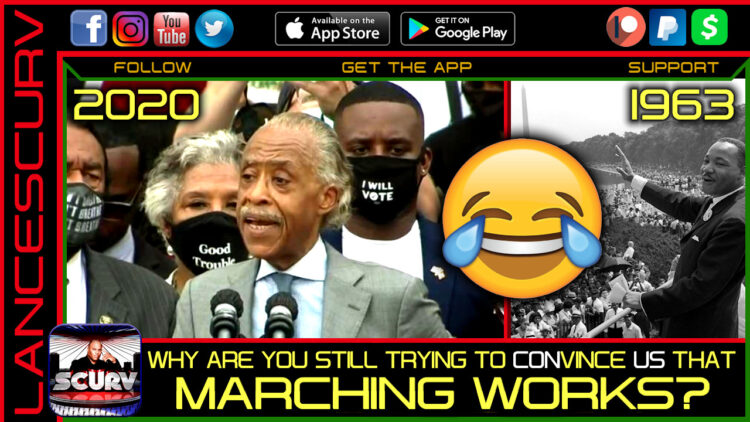 WHY ARE YOU STILL TRYING TO CONVINCE US THAT MARCHING WORKS?