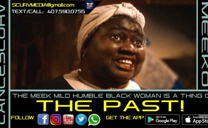 SISTER MEEKO: THE MEEK MILD HUMBLE BLACK WOMAN IS A THING OF THE PAST!