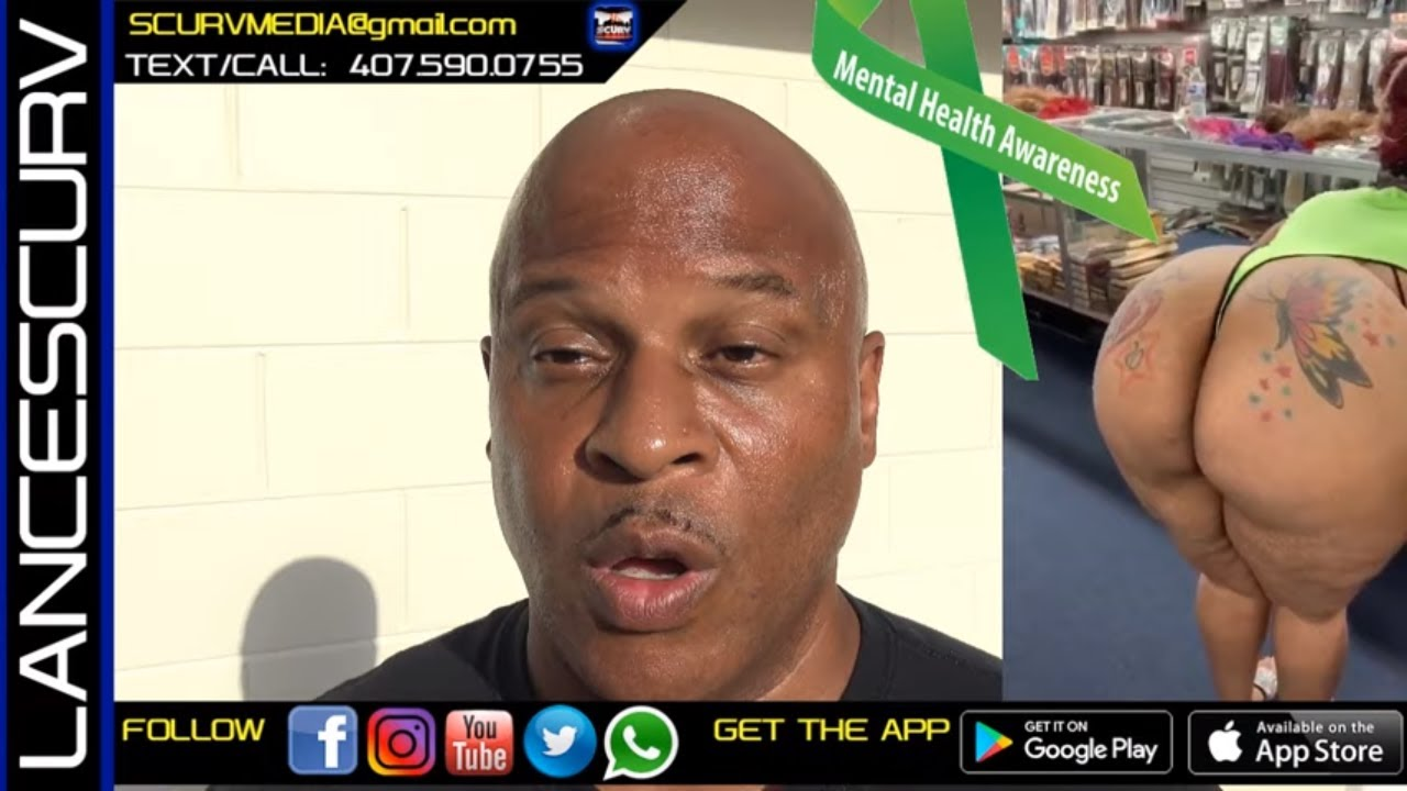 MENTAL HEALTH DAY SHOULD BE EVERYDAY IN THE BLACK COMMUNITY! - The LanceScurv Show