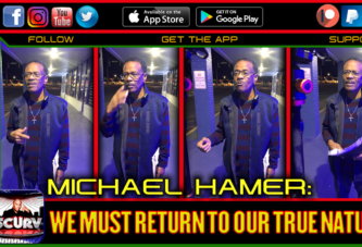 WE MUST RETURN TO OUR TRUE NATURE! - MICHAEL HAMER