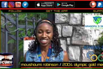 MOUSHAUMI ROBINSON: THIS 2004 OLYMPIC GOLD MEDALIST SEEKS TO EMPOWER OUR YOUTH!