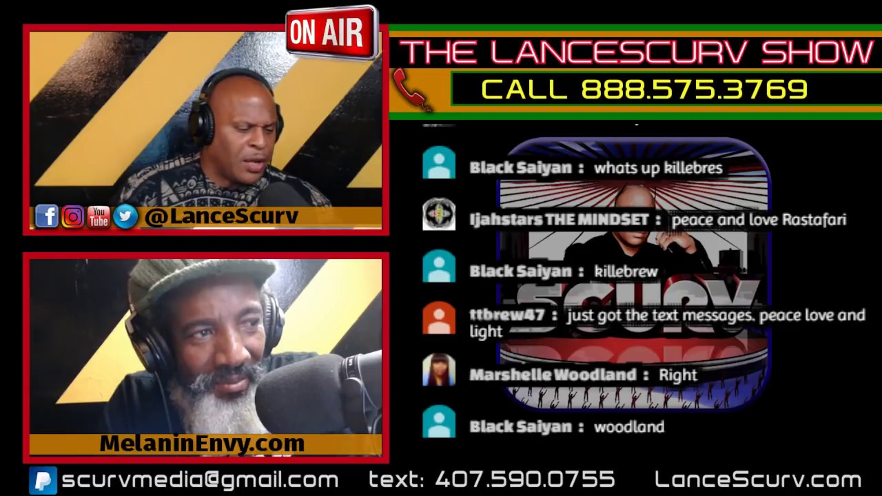 OPEN CALL IN DISCUSSION LINE: HEALING OUR COMMUNITY FROM WITHIN! - BROTHER KWAKU/LANCESCURV