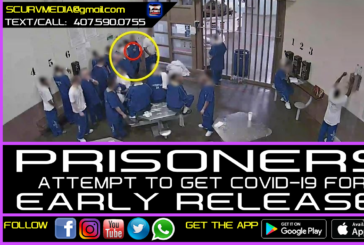 PRISONERS IN L.A. JAIL ATTEMPT TO GET THE 'RONA FOR EARLY RELEASE!
