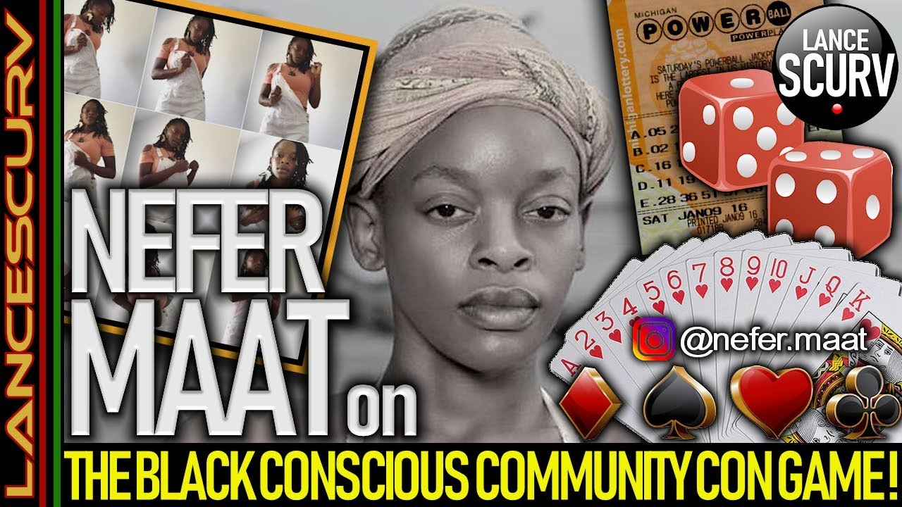 QUEEN PARASITE SPEAKS ON THE BLACK CONSCIOUS COMMUNITY CON GAME FRAUD BECAUSE SHE'S THE MASTER!