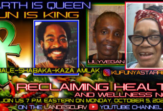 BROTHER BALE-SHABAKA KAZA AMLAK FEATURED ON RECLAIMING OUR HEALTH WITH KUFUNYA STAR REBEL!