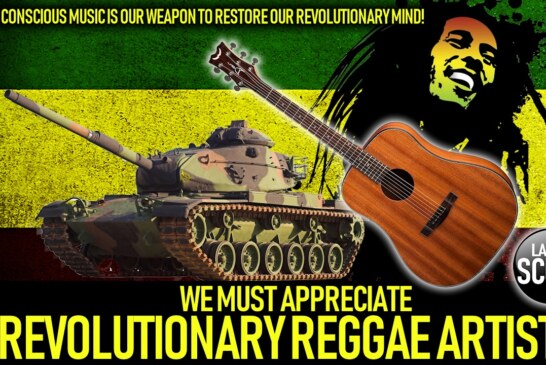CONSCIOUS MUSIC IS OUR WEAPON TO RESTORE OUR REVOLUTIONARY MIND!