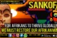 SANKOFA: FOR AFRIKANS TO THRIVE GLOBALLY WE MUST RESTORE OUR AFRIKAN MIND!