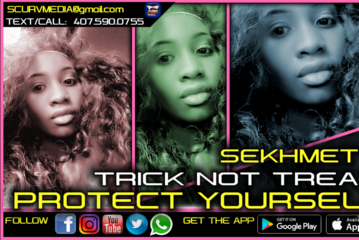 TRICK OR TREAT! PROTECT YOURSELF! – SEKHMET 7