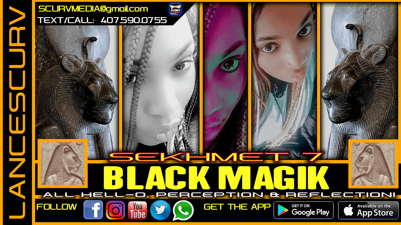 BLACK MAGIK: ALL HELL-O, PERCEPTION & REFLECTION!
